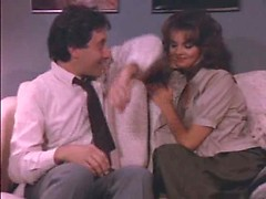 Classic retro porn action with naughty MILF banged really hard