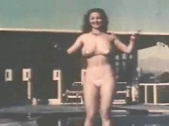 Retro showgirls and nudists in a sexy compilation with lots of vintage tits