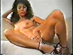 Horny amateur housewife masturbating pussy and showing tight dirty anus