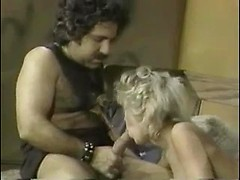 Uncensored vintage porn with blonde MILF fucked in pussy and ass hole