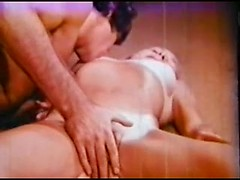 Best vintage porn session with amateur MILF fucking cock and orgasming