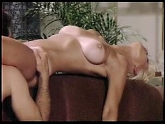 Crazy vintage porn with busty blonde wife licked and fucked in her twat