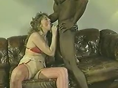 Vintage shared wife blows her black boyfriend with the kind of passion he loves